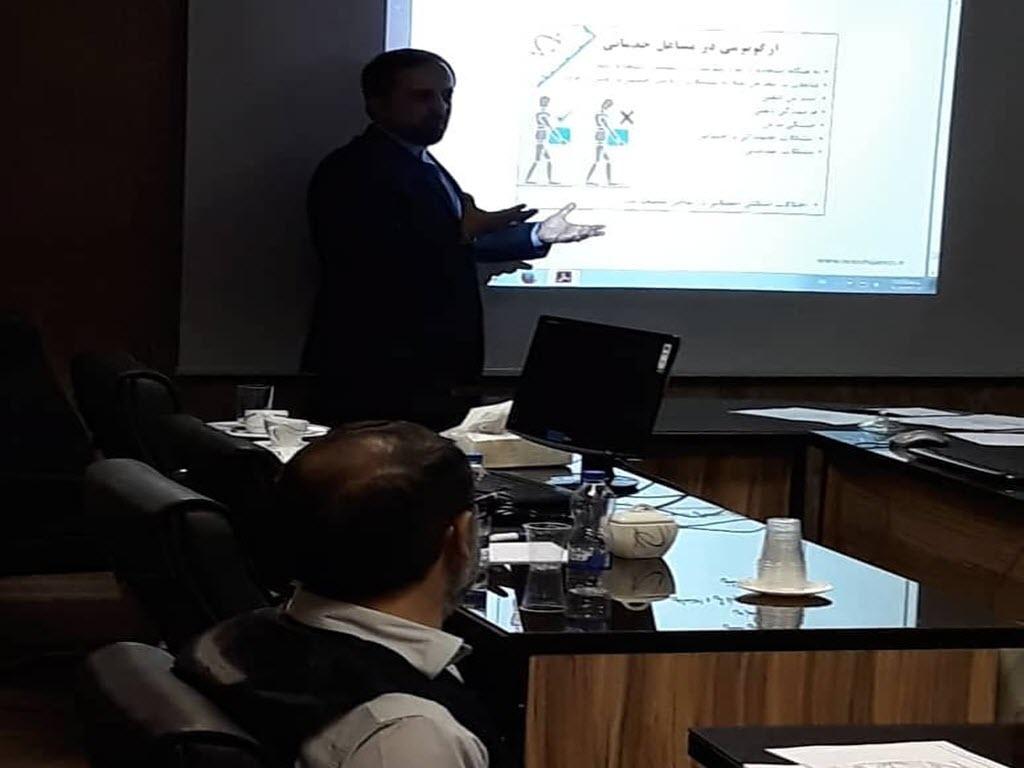 آموزش نیروهای خدمات بانک و موسسات مالی vip(آبدارچی)